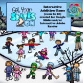 Interactive Addition Games-Google Slides -Get Your Skates On!