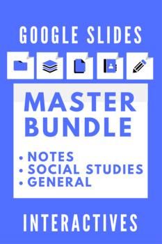 Google Slides Interactive Notetaking Master Bundle