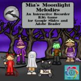 Google Slides-Interactive Recorder BAG Game- Mia's Moonlight Melodies