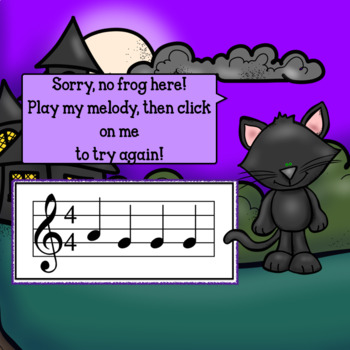 Google Slides-Interactive Recorder BAG Game- Mia's Moonlight Melodies