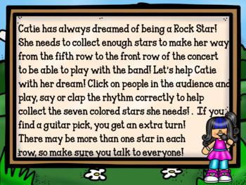 Google Slides-Interactive Recorder Music-Catie the Rock Star!