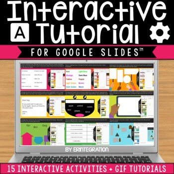 Google Slides Interactive Tutorial:  Fonts & Text Boxes