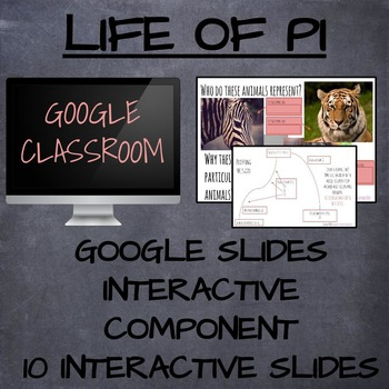 Google Slides Interactive Unit - LIFE OF PI