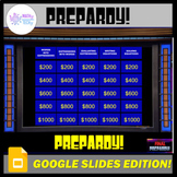 Google Slides Jeopardy - Algebra Expressions and Equations