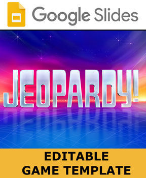 google slides - jeopardy game templateroombop | tpt, Google Presentation Jeopardy Template, Presentation templates