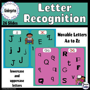 Letter Recognition - Google Slides Activity