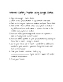 Google Slides - Make an Internet Safety Poster