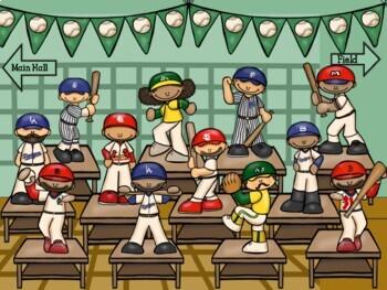 Google & Adobe Marty's Baseball Museum-Interactive Multiplication