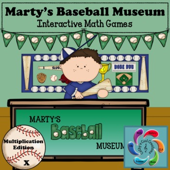 Google/PDF Marty's Baseball Museum-Interactive Multiplication