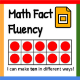 Google Slides ™︱Math Fact Fluency Routine - Distance Learning