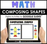 Google Slides Math Geometry Composing Shapes Digital Activ