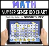 Google Slides Math 100 Chart Number Sense Distance Learning