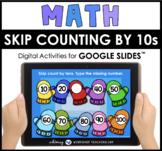 Google Slides Math Skip Count By Ten Digital Activities Di