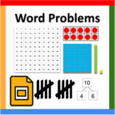 Google Slides ™︱Math Word Problems - Distance Learning