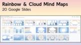Google Slides Mind Map Templates Rainbow Background 20 Sli