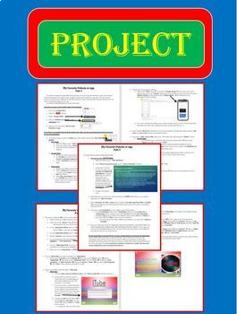 Google Slides - My Favorite Website or App Project