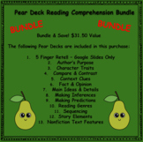 1 Google Slides & 11 Pear Deck Comprehension Skills Mini L
