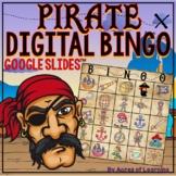 Virtual Class Party Pirate Bingo | Behavior Reward Game