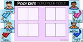 Google Slides: Pool Kids Homophone Match (Digital Resource)