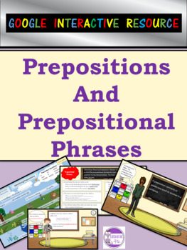 Google Slides Prepositions and Prepositional Phrases