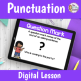 Punctuation Lesson for Distance Learning