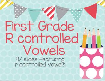 Google Slides R controlled vowel words