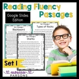 Google Slides Reading Passages & Questions - Set 1 - Dista