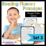 Google Slides Reading Passages & Questions - Set 3 - Dista