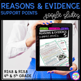 Reasons & Evidence Support Points - RI.4.8 / RI.5.8 Google