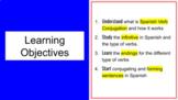 Google Slides   Regular Verbs   Spanish Verb Conjugation i