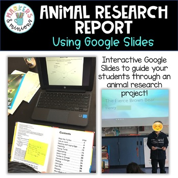 Google Slides Research Animal Report