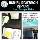Google Slides Research Animal Report