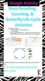 Google Slides - Retelling, Counting,& Butterfly Life Cycle