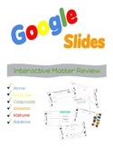 Google Slides Review - Atoms, Molecules, Mixtures, and more!