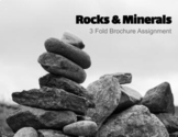 Google Slides - Rocks & Minerals 3 Fold Brochure - Research Assignment