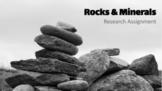 Google Slides - Rocks & Minerals - Research Assignment