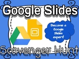 Google Slides Scavenger Hunt *VIDEO TUTORIALS INCLUDED*