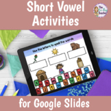 Short Vowels CVC Words Activities | Distance Learning
