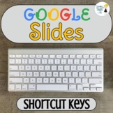 Google SLIDES Useful Shortcut Keys - Editable!