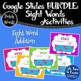 Google Slides Sight Words: Word Addition BUNDLE (Distance