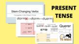 Google Slides - Spanish Stem-changing Verbs in the Present Tense