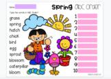 Google Slides: Spring ABC Order - 3 Slides (Digital Resource)