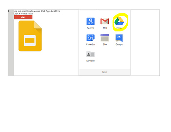 Google Slides State Project Made with Google Apps like Powerpoint