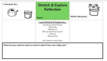 Google Slides: Stretch & Explore Reflection