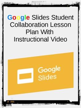 Google Slides Student Collaboration Lesson Plan