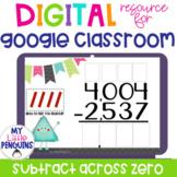 Google Slides: Subtract Across Zero with 4 Digit Numbers  