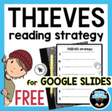 Google Slides THIEVES Reading Comprehension Graphic FREE D