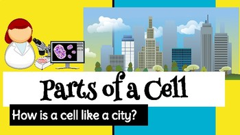 Google Slides Template- Parts of a Cell