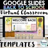 Google Slides Templates Virtual Classroom Distance Learnin