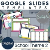 Google Slides Templates Back to School | Editable